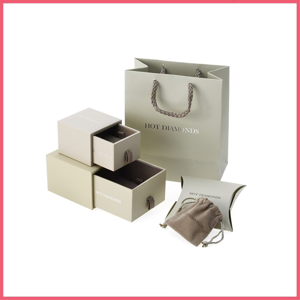 Luxury Custom Design Paper Jewelry Box Sets Jewelry Packaging With
